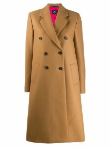 PS Paul Smith double-breasted coat - Neutrals