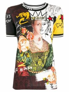 Dolce & Gabbana printed collage T-shirt - Black