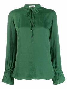 Zadig & Voltaire tie-fastening blouse - Green