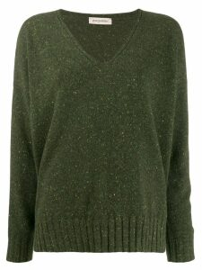 Gentry Portofino oversized cashmere jumper - Green