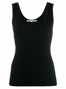 Veronica Beard ribbed tank top - Black
