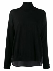LIU JO turtle neck jumper - Blue