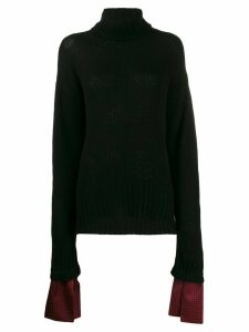 Jejia loose-fit turtleneck jumper - Black