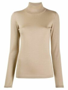 Brunello Cucinelli turtle neck jumper - Brown