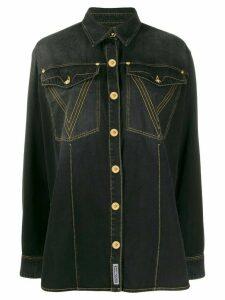 Versace V stitch shirt - Black