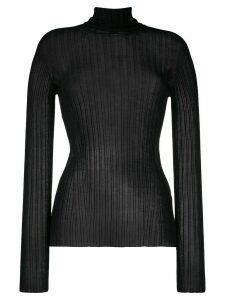 Versace roll neck sweater - Black