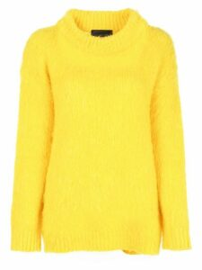 Erika Cavallini Turtleneck jumper - Yellow