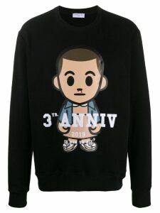 Ih Nom Uh Nit graphic print sweatshirt - Black