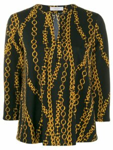 Roseanna chain print blouse - Black