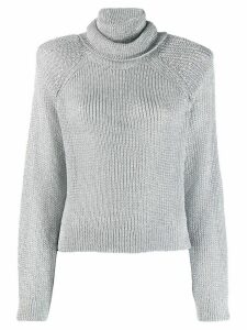 RtA turtleneck jumper - SILVER