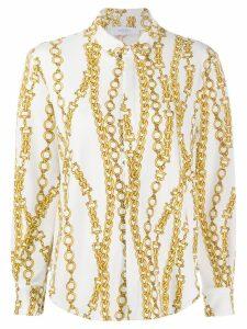 Roseanna chain print Sting shirt - White