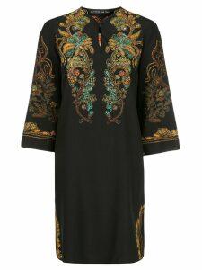 Etro short printed tunic - Black