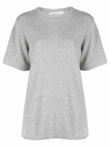 Extreme Cashmere short sleeved knit top - Grey