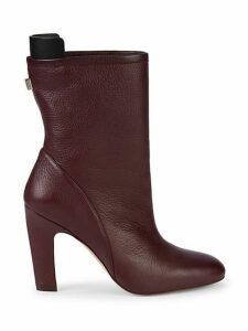 Brooks Leather Booties