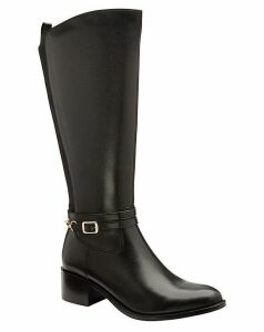 Ravel Raglan Leather Knee High Boots
