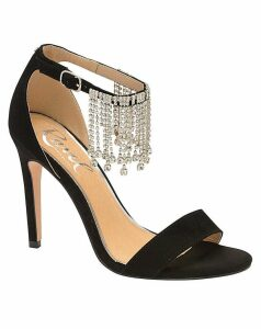 Ravel Pomona Open-Toe Stiletto Sandals