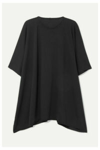 Rick Owens - Minerva Oversized Cotton-jersey T-shirt - Black
