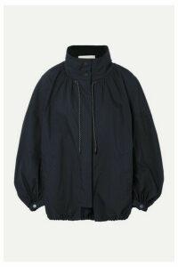 3.1 Phillip Lim - Oversized Cotton-blend Jacket - Midnight blue