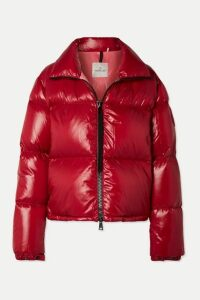 Moncler - Quilted Shell Jacket - Red
