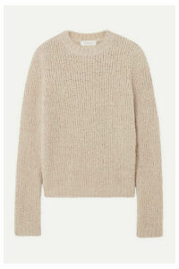 Gabriela Hearst - Philippe Cashmere And Silk-blend Bouclé Sweater - Ecru
