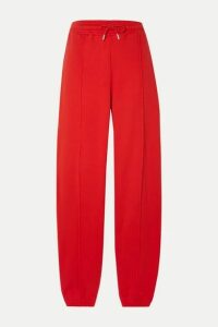 Ninety Percent - + Net Sustain Organic Cotton-jersey Track Pants - Red