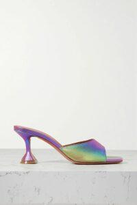 Sacai - Waffle-knit Wool Sweater - Navy