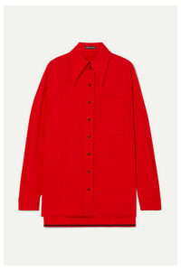 Kwaidan Editions - Wool-blend Shirt - Red