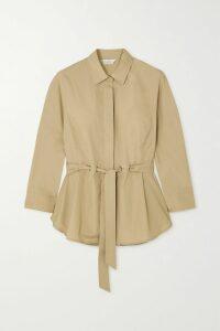 JW Anderson - Asymmetric Paneled Cotton-poplin Shirt - White