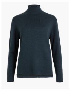 M&S Collection Merino Blend Relaxed Jumper