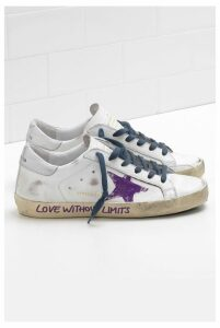 Golden Goose Sneakers Superstar White Golden Words - EU40 White