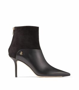 Beyla 85 Leather Ankle Boots