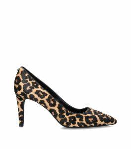 Leopard Print Dorothy Flex Pumps 80