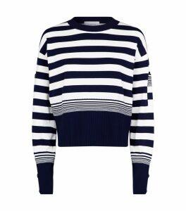 Cropped Astice Stripe Sweater