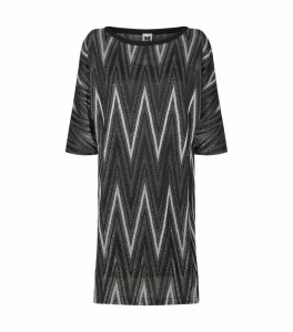 Zig Zag Mini Dress