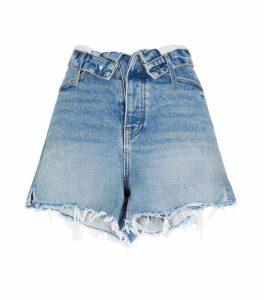 Bite Flip High-Waist Shorts