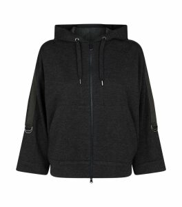 Cashmere Zipped Hoodie