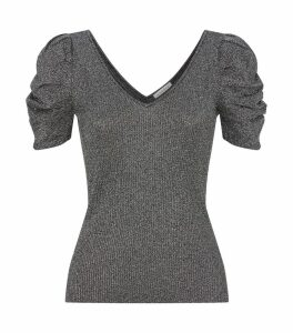 Knitted Lurex Top