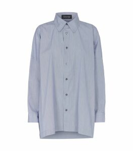 Wide Pinstripe Shirt