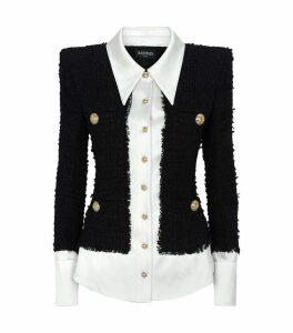 Tweed Shirt Jacket