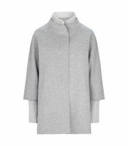 Wool Ribbed Coat