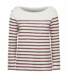 Long-Sleeved Breton Stripe T-Shirt