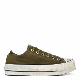 Chuck Taylor All Star Canvas Rust Platform Low Top