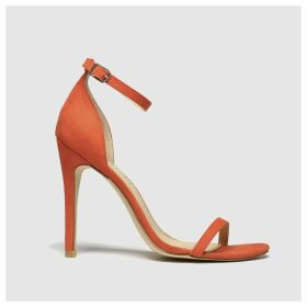 Schuh Orange Passion High Heels