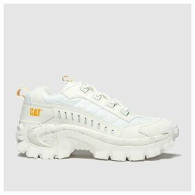 Cat-footwear White Intruder Trainers