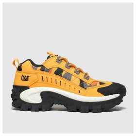 Cat-footwear Yellow Intruder Trainers