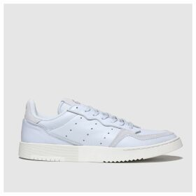 Adidas Pale Blue Supercourt Trainers