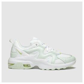 Nike White & Green Air Max Graviton Trainers
