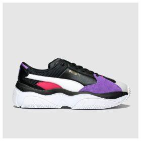 Puma Black & Purple Storm.y Trainers
