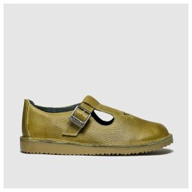 Red Or Dead Yellow Ziggy Flat Shoes