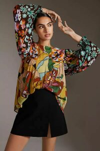 Anthropologie Charlie Leather and Suede Trainers - Black, Size 41